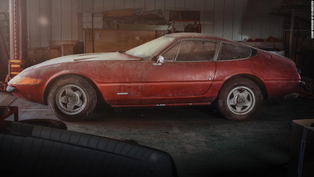 Rare 'barn find' Ferrari sells for $2M - CNN Style