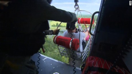 Cooper rides along in dramatic chopper rescue