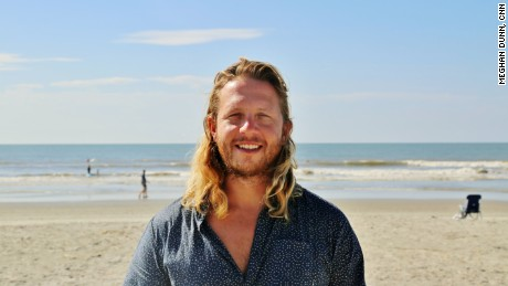 CNN Hero Andrew Manzi runs Warrior Surf, an organization that encourages military veterans to surf therapeutically and seek counseling post combat.