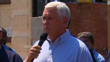 Pence to Texas: American people are with you