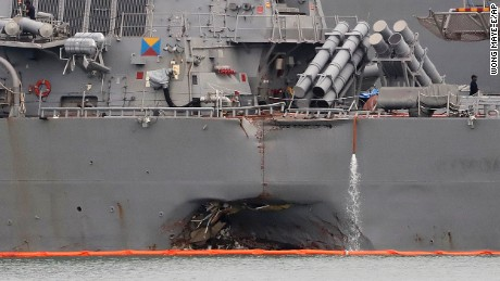 Exclusive: US Navy ships in deadly collisions had dismal training records