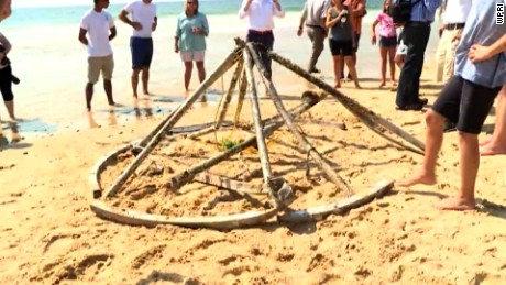 What Was Metal Thing On The Beach In Rhode Island