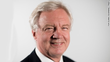 British Brexit Secretary David Davis resigns over EU exit plan