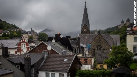 The German town of Altena has welcomed 370 refugees.