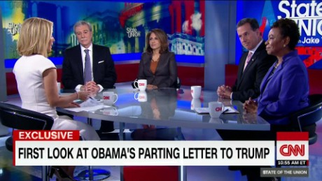 Exclusive: CNN Obtains Obama Letter to Trump