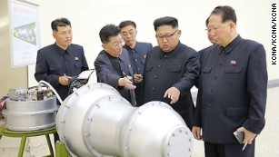 North Korean official: Take hydrogen bomb threat 'literally'