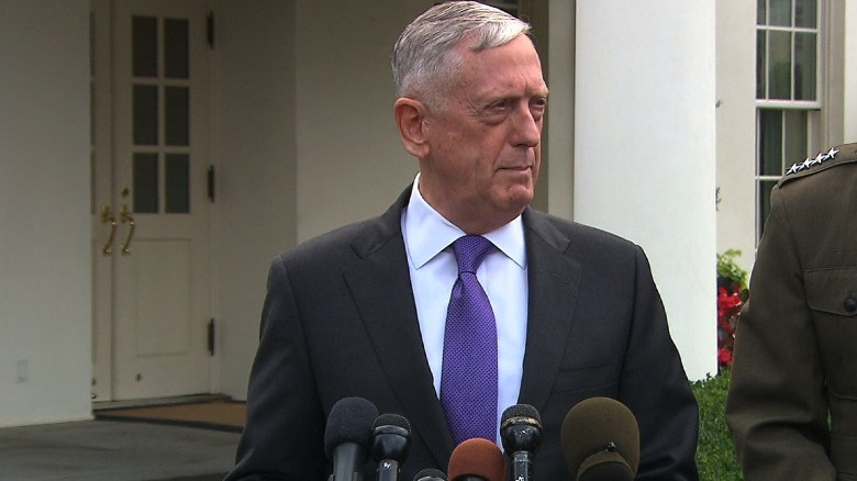 Mattis: Not looking to annihilate North Korea