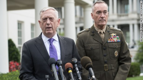 Mattis and Dunford call for classified nuclear changes