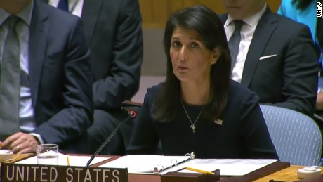 Haley: Kim Jong Un is begging for war