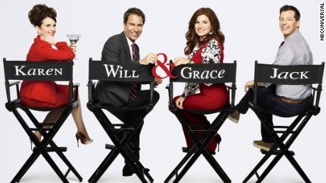 "The cast of ""Will & Grace."""