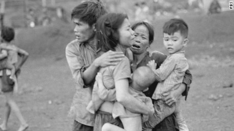 An image from the PBS documentary 'The Vietnam War'