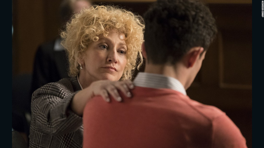 "NBC uses the ""Law & Order"" banner to get into the true-crime-drama business, with Edie Falco starring in this eight-part retelling of the Menendez brothers trial for the 1989 murder of their parents."