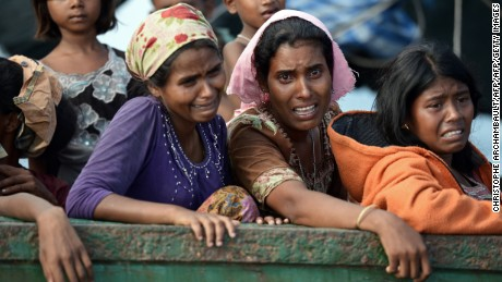 The Rohingya don't want our anger -- they want our help
