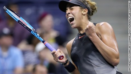 The last time four American women reached the US Open semifinals was 1981