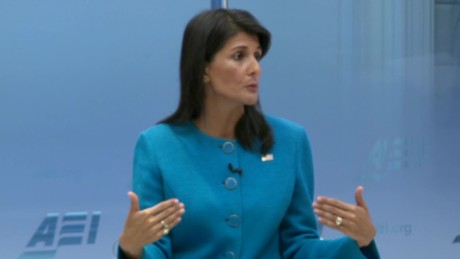 Haley lays out case for US to leave Iran deal