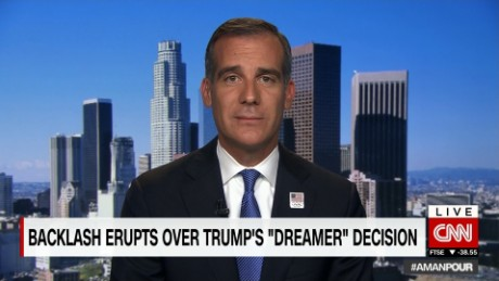 "Mayor of LA: Dreamers are ""children of America"""