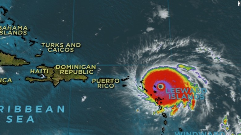 Potentially catastrophic Irma nears Caribbean