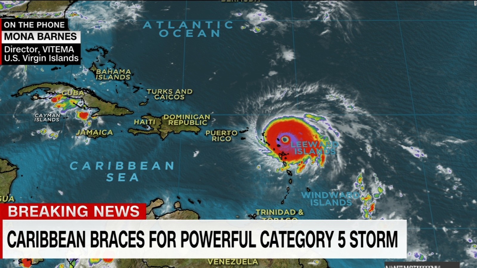 Caribbean islands under threat from Irma  CNN