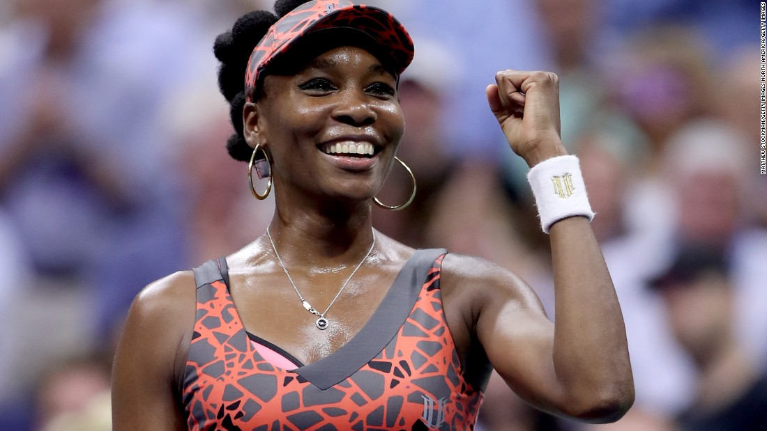 No one picked up more grand slam wins this season than Venus. She reached finals at the Australian Open and Wimbledon and the semis in New York.