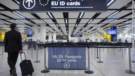 Britain to slash EU migration after Brexit, leaked paper says