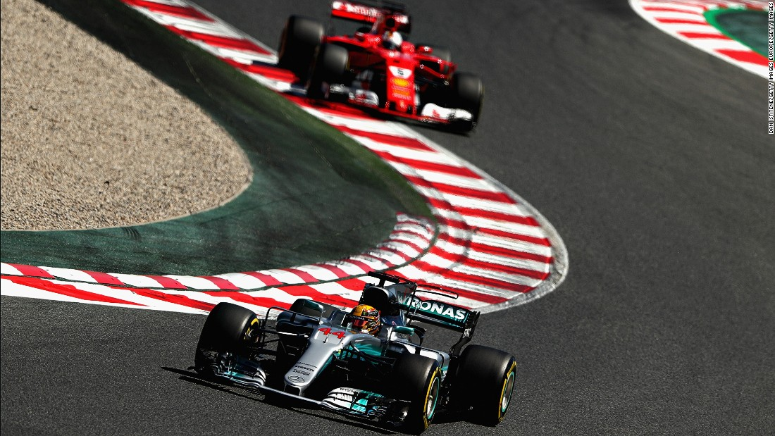 After missing out on a podium in Russia, Hamilton roared back to the top step at the Spanish Grand Prix. The Briton was overtaken by Vettel at the start but Hamilton fought back, dramatically overtaking his title rival later in the race to take the checkered flag. Red Bull's Ricciardo took third -- his first podium of the season after Bottas suffered an engine failure.<br /><br /><strong>Drivers' title race after round 5</strong><br />Vettel 104 points<br />Hamilton 98 points<br />Bottas 63 points