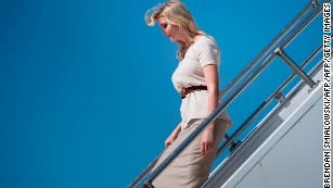 Ivanka Trump sets for trip to India