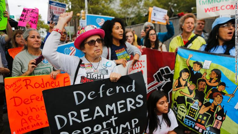 White House unveils DACA deal asks