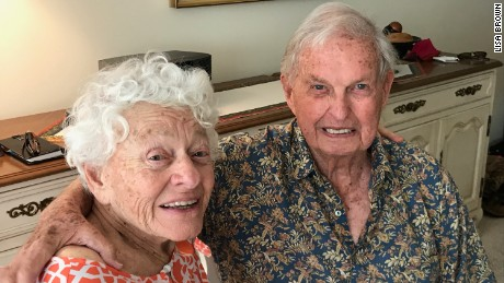 Joanne and Herbert Dreisbach plan to stay at their senior living community in Jacksonville, Florida, when Hurricane Irma hits.