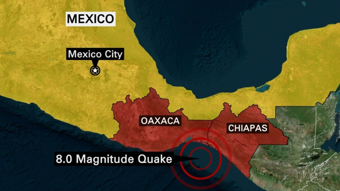 Strong Earthquake Hits Off Coast Of Mexico Cnn Video: Mexico City Earthquake Map At Infoasik.co