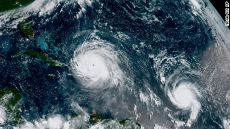 Hurricane Jose strengthens to 'extremely dangerous' Category 4