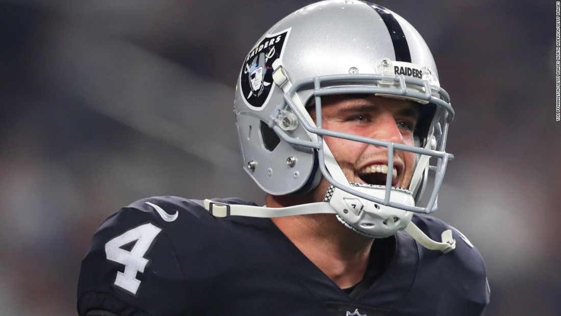 The Oakland Raiders made Derek Carr their franchise QB this offseason with a five-year, $125 million deal -- briefly crowning the former Fresno State man as the highest paid player in the league. Carr has been a Pro-Bowler two of his first three seasons in Oakland.