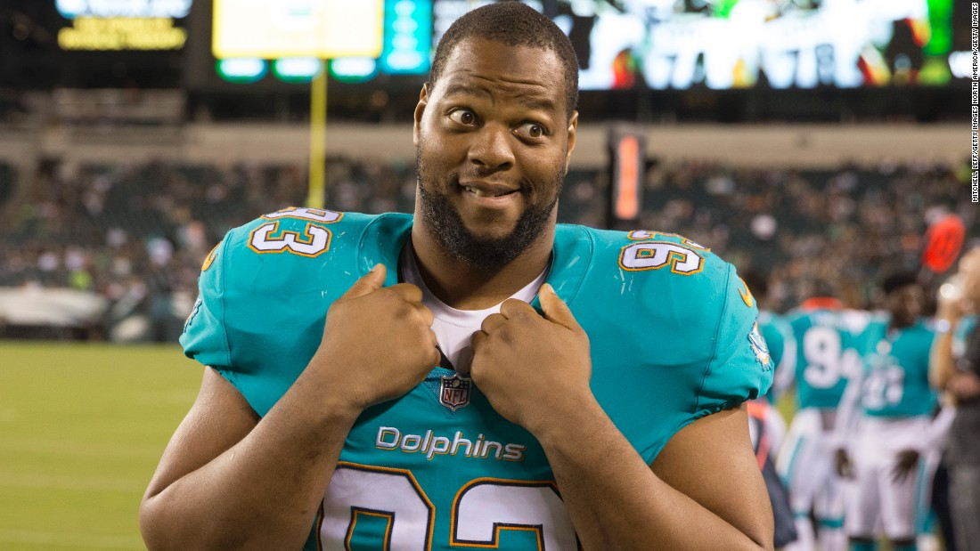 Ndamukong Suh was signed by the Miami Dolphins for a six-year, $114 million contract in March 2015, making him the highest paid defensive player in history at the time -- hefty numbers for a 30-year-old lineman who has yet to match the 10 sacks achieved during his rookie season with the Detroit Lions.