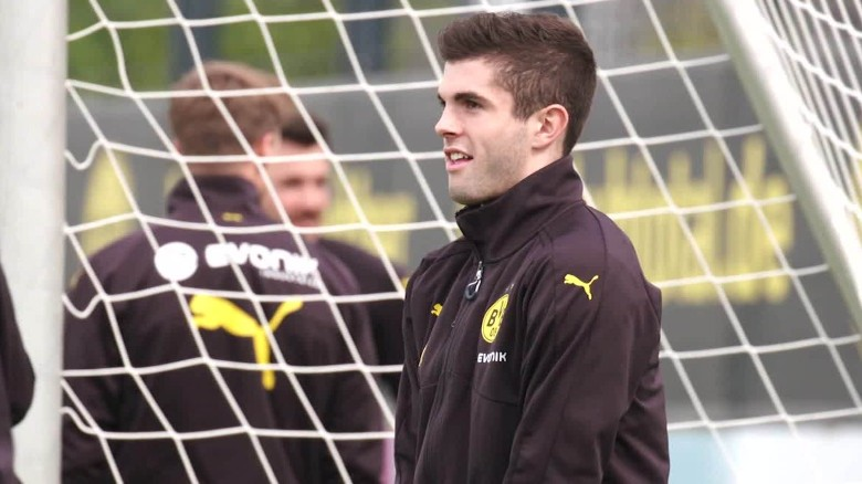 ws christian pulisic soccer rise pkg _00002025