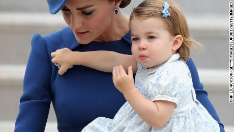 William and Kate toured Canada last year with their two children, George and Charlotte.