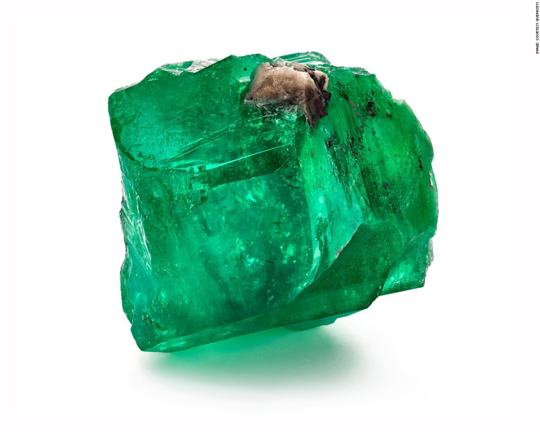 Rare emeralds found in 400-year-old shipwreck to fetch millions