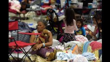The Miami-Dade County Fair and Exposition Center in Miami was used to shelter Floridians fleeing Hurricane Irma in 2017. But with coronavirus spreading, emergency response manangers are rethinking how to shelter displaced people.