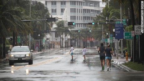 Damage assesments underway in Miami Beach