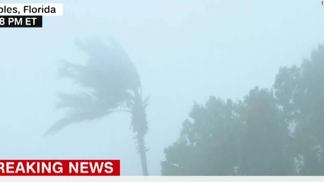 Irma climbs Florida's coast; 'dangerous' storm surges feared