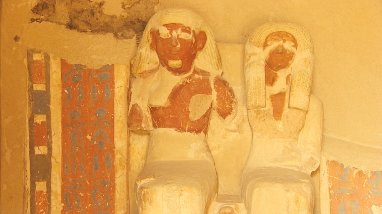 Peek inside Egypt's latest tomb discovery