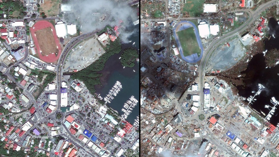 Before And After Hurricane Irma Photos Show Devastation