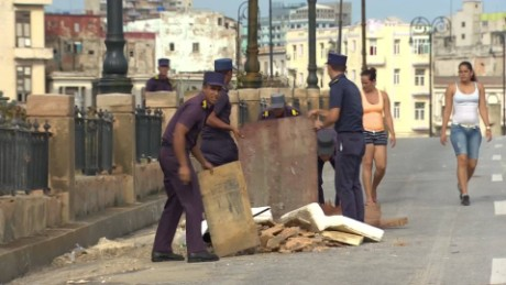 Cuba recovers from Hurricane Irma