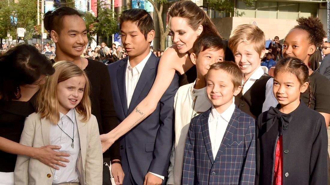 Angelina Jolie makes TIFF family affair - CNN Angelina Jolie Kids