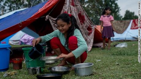 nepal nud girl teen