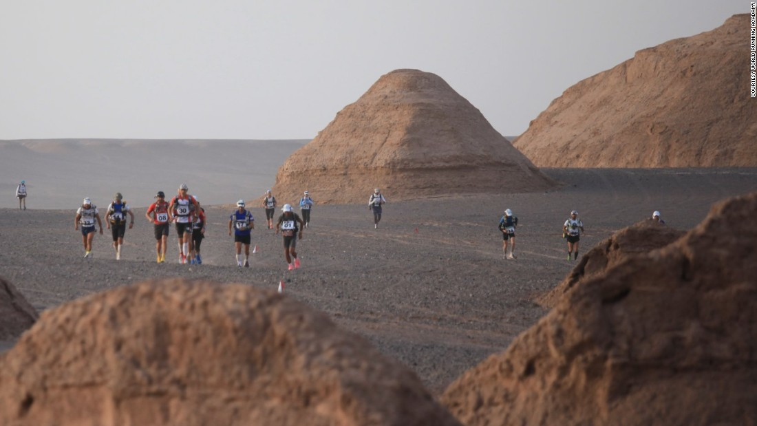 "Iran's premier ultramarathon comes in two flavors: the <a href=""http://www.worldrunningacademy.com/wraextremeraces/en/"" target=""_blank"">Lite (93 miles) and the Integral (155 miles)</a>. Raced across six stages, competitors carry about 22 pounds of equipment -- clothing and food -- and run from early morning until mid-afternoon in the September heat, working their way across the Dasht-e-Lut desert in southeastern Iran. After 38 years, men and women now run alongside each other."