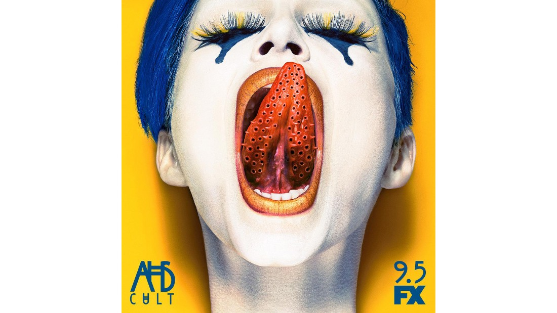 "This is the ""American Horror Story: Cult"" photo that sent trypophobia sufferer Jennifer Andresen into a full-blown panic attack when she saw it on the side of a taxi while driving her mother and grandmother in New York.<br /><br />""I had to pull over. My pulse was racing. I was so nauseous I thought I would throw up,"" said Andresen. ""My mother and grandmother were like, 'What is wrong with you?' """