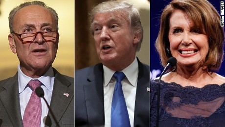 Trump, Schumer and Pelosi: The in crowd