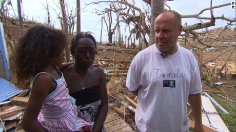 'We would've been dead': Stranger risks life to rescue family during Irma