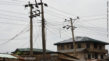More than 40% of Nigerians are without access to electricity.