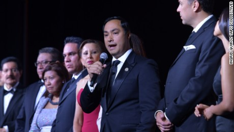 Rep. Joaquin Castro (D-Texas), chair of the Congressional Hispanic Caucus Institute, at CHCI's Gala on Wednesday, Sept. 13, 2017.