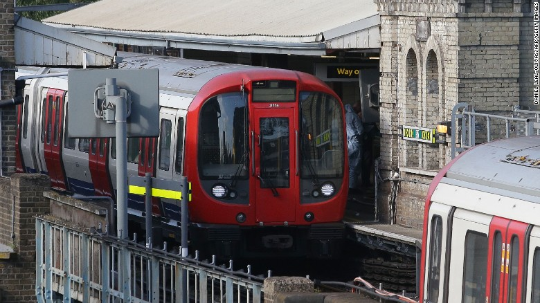 Police: Tube incident declared terror event